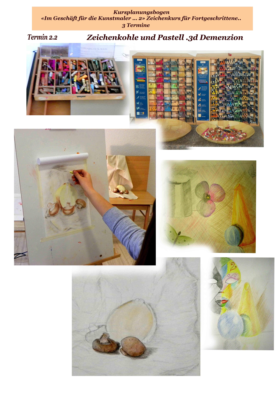 Zeichenkurs für Fortgeschrittene | Kunstschule Trier