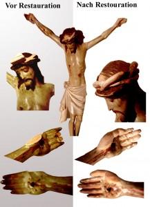Kreuzigung Figure Iesus Kopie
