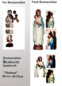 Restouration Madone (Stein)